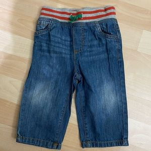 Baby Boden Pull On Denim Pants 12-18 Months